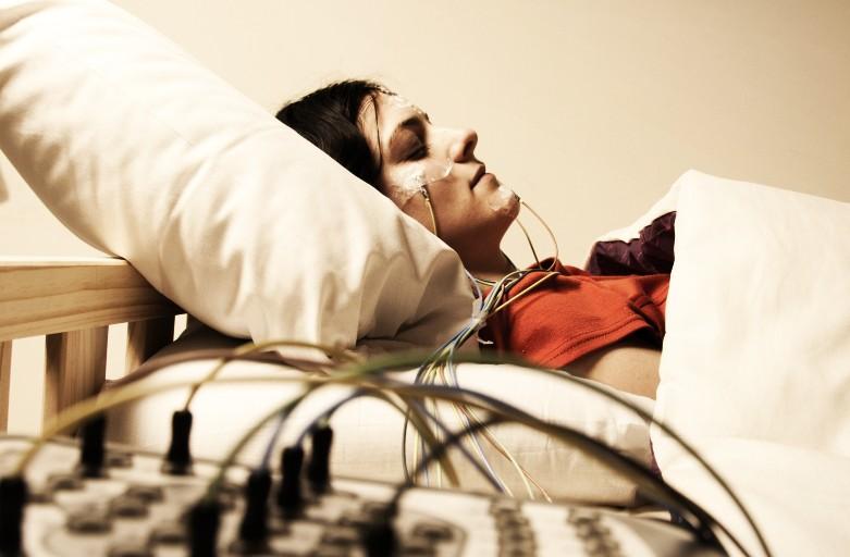 Studio notturno computerizzato del sonno